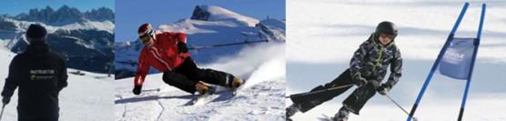 Intensywny kurs narciarski.