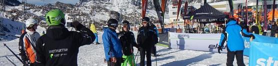 Stubaital. Start sezonu narciarskiego 2013/14.