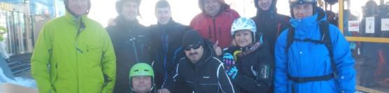 Mikołajkowy start sezonu narciarskiego na lodowcu Pitztal 2013r.