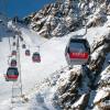 Lodowiec Pitztal, Tyrol, Austria.