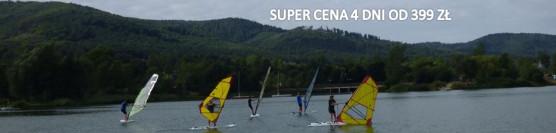 Długi Weekend Czerwcowy / Boże Ciało / Promocyjny kurs windsurfing z opcją pobytu.<br /><strong>!!! Super cena 4 dni od 399 zł !!!</strong>