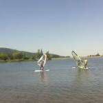 Jezioro Sudety Baza Windsurfing DobraIntegracja.pl