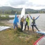 Baza windsurfing Kursy Zakończenie sezonu 2015. Jezioro sudety DobraIntegracja.pl  zaprasza (23)
