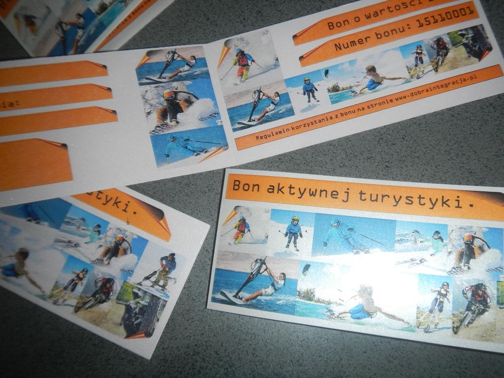Super prezent Bon aktywnej turystyki Dobraintegracja.pl (2)
