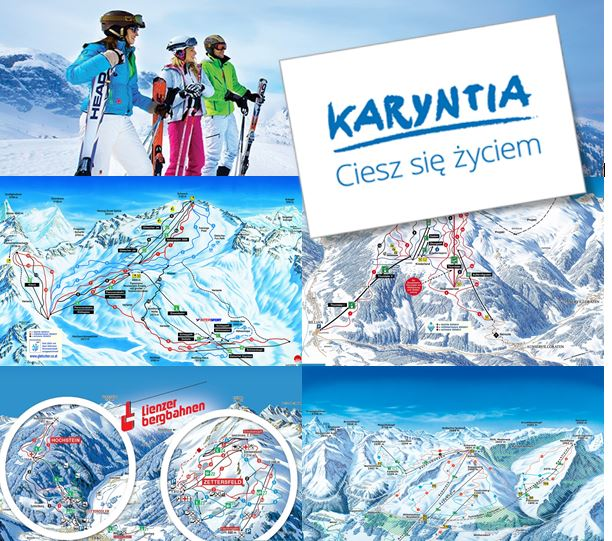 karyntia ski maps oll
