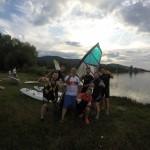 Szkoła Windsurfing www.dobraintegracja.pl Podsumowanie sezonu 2018r. Jezioro Bielawskie. / Sudety Środkowe / Góry Sowie.DCIM106GOPRO