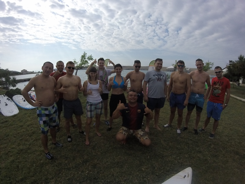 Event z kursem windsurfing / Chorwacja Wyspa Pag z www.dobraintegracja.pl